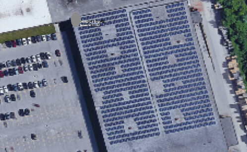 436kW ROOFTOP SOLAR PV